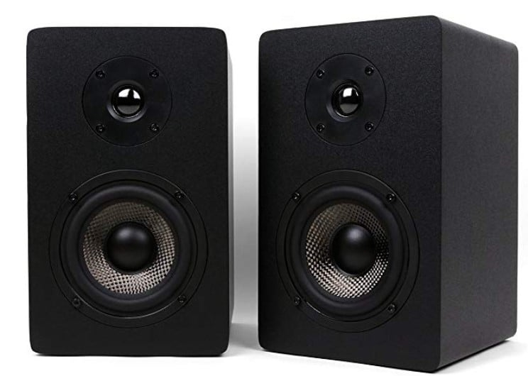 Micca MB42X Carbon Fiber Bookshelf Speakers