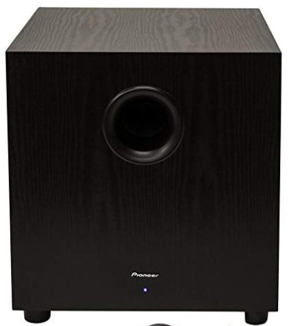 PIONEER 400W Powered Home Subwoofer