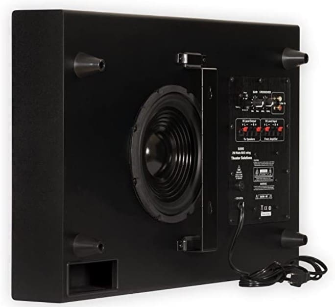 Theater Solutions SUB8S Surround Sound Subwoofer