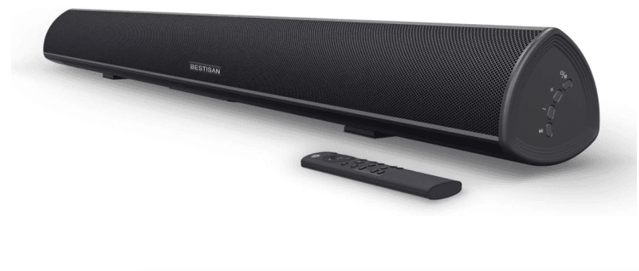 BESTISAN Home Theater System Wired and Wireless Soundbar Speaker