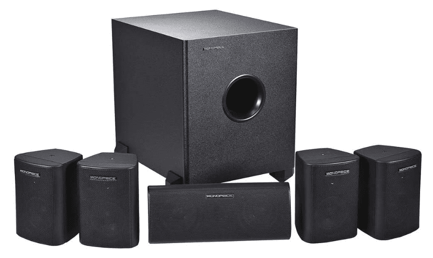 Mono Price 5.1 Channel Satellite Speaker