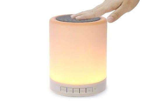 Best Budget: ShavaNight Light Bluetooth Speaker