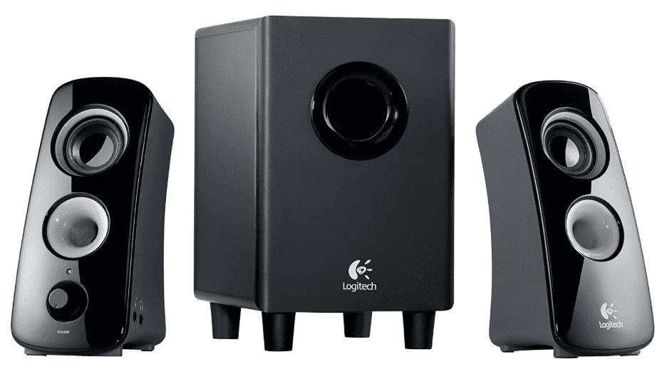 Best Budget Logitech Speaker System Z323 with Subwoofer