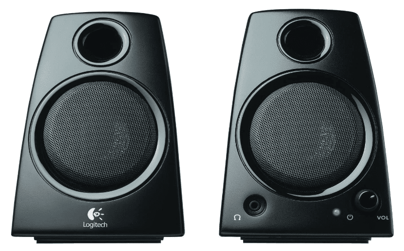 Best Overall Logitech 3.5mm Jack Compact Laptop Speakers