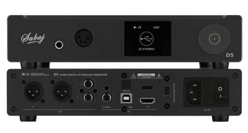 Sabaj D5 110V Hi-Res Audio Digital to Analog Converter Balance