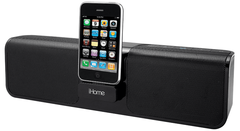 iHome iP46 Portable 30-Pin iPod iPhone Speaker Dock