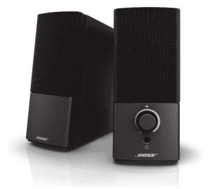 Bose companion multimedia speakers
