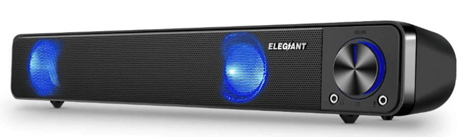 Elegiant computer speakers