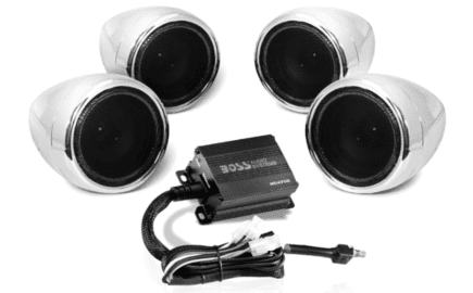 Boss Audio Systems MC470B Motorcycle Bluetooth Speakers System