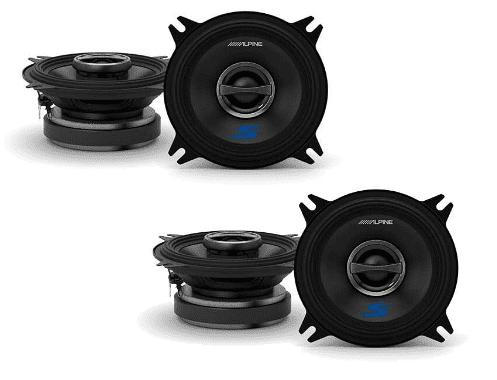 Alpine S S40 4 Speaker Bundle