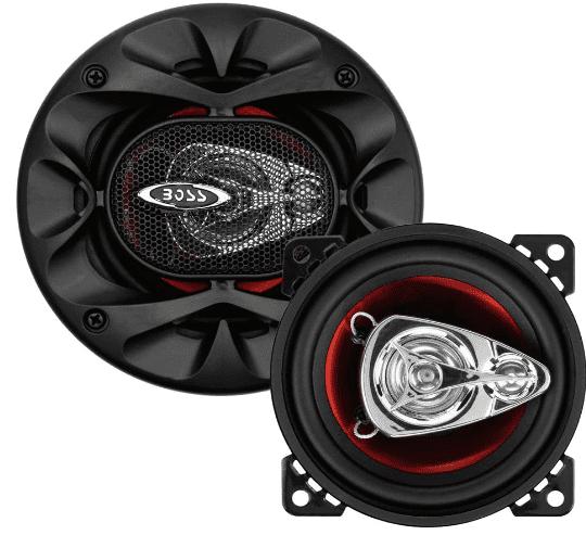 BOSS Audio Systems BE423 225 Watt Per Pair 4 Inch Full Range 3 Way Car Speakers