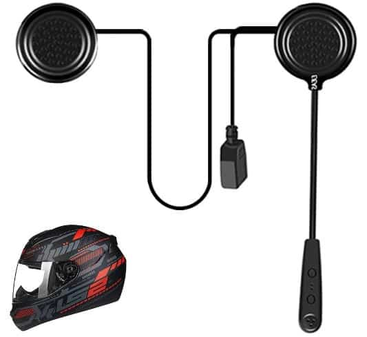EJEAS Helmet Bluetooth 4.1 Headset