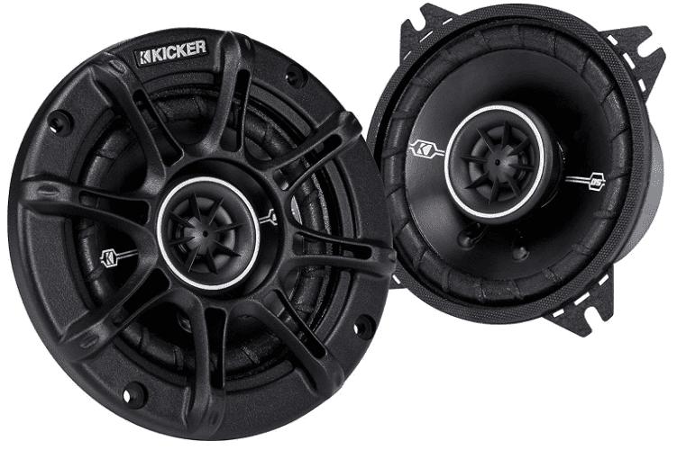 Kicker 41DSC44 4 2 Way Speaker
