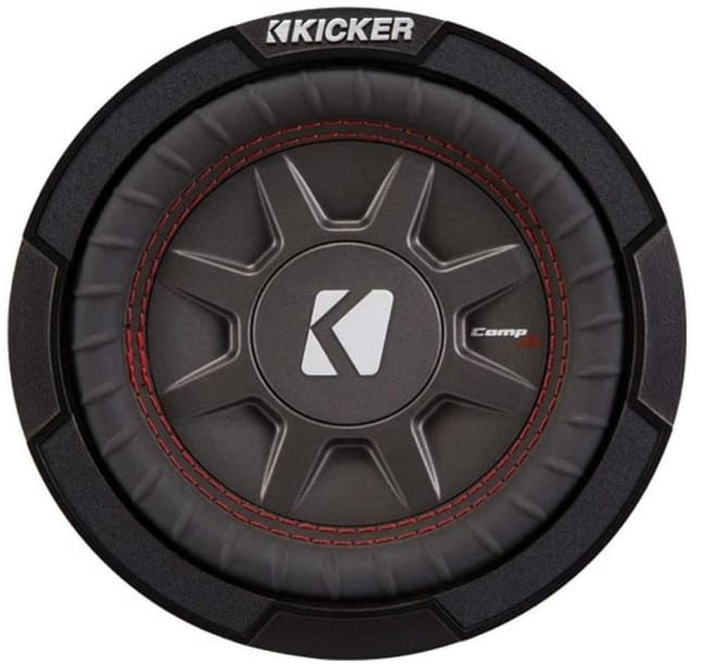 Kicker CompRT Single Slim Car Subwoofer