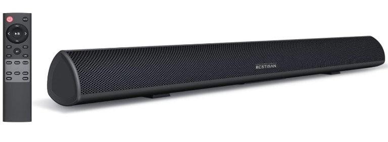 Bestisan Soundbar 34 Inches - High-Quality Soundbar